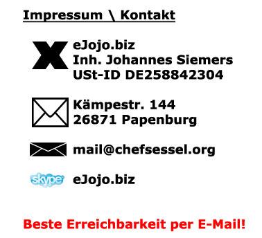 chefsessel.org Impressum