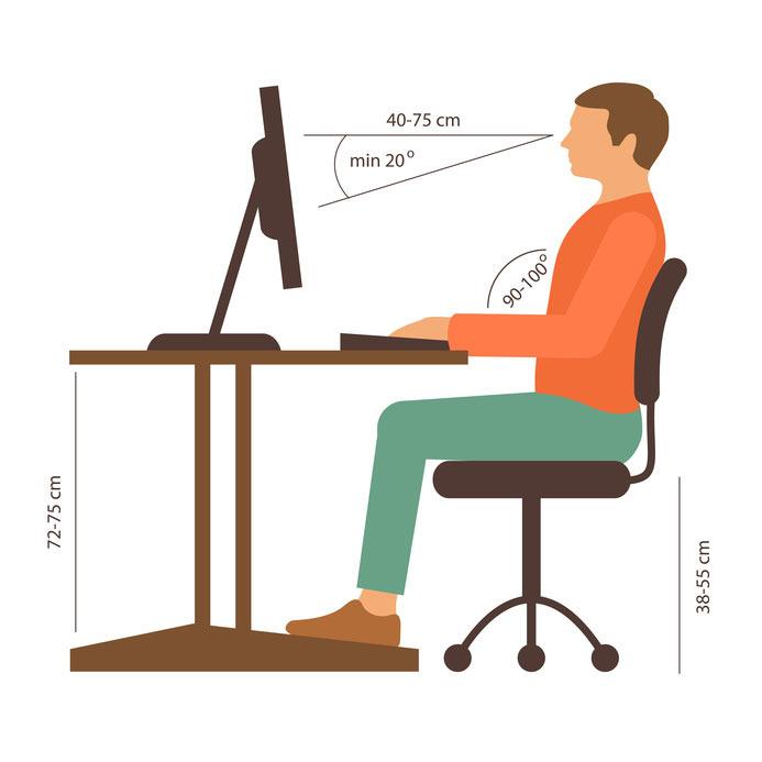 Bürostuhl Richtig Und Körperschonend Sitzen Chefsesselorg